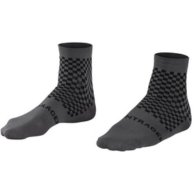 Bontrager Race Quarter Socks Men quicksilver/dnister black
